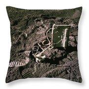 Apollo 15 Lunar Experiment Throw Pillow
