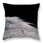 Apollo 15 Lunar Landscape Throw Pillow