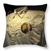 Apollo Space Suit Throw Pillow
