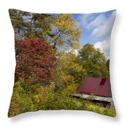 Appalachian Autumn Throw Pillow