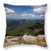 Appalachian Trail View Throw Pillow