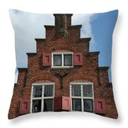 Appartments Throw Pillow