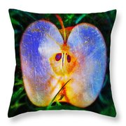Apple 2 Throw Pillow