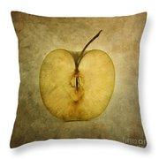 Apple Textured Throw Pillow