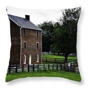 Appomattox County Jail Throw Pillow