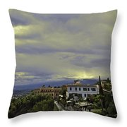 Approaching Storm - Sicily Throw Pillow