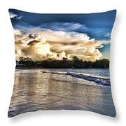 Approaching Storm Clouds Throw Pillow