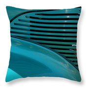 Aqua Magic Throw Pillow