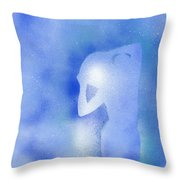 Aquarius 2 Throw Pillow