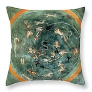 Aratuss Constellations Throw Pillow