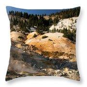 Arc Of Steam Throw Pillow