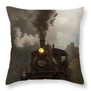 Arcade Steam Engine Throw Pillow
