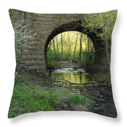 Arch In Spring 3 Throw Pillow