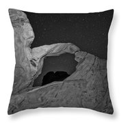 Arch In Valley Of Fire Nevada Throw Pillow