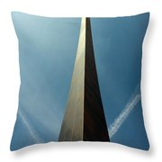 Arch With A Flare Throw Pillow