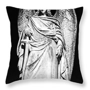 Archangel By Night Throw Pillow