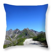 Archangel Road Throw Pillow