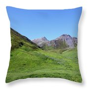 Archangel Valley Throw Pillow