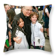 Archbishop Alexander Brunett Throw Pillow