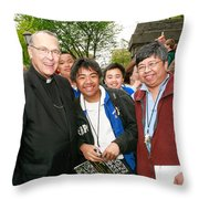 Archbishop Brunett 2007 Throw Pillow
