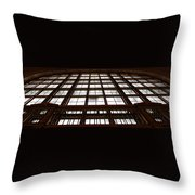 Arched Window Throw Pillow