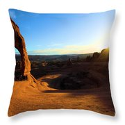 Arches Starburst Throw Pillow