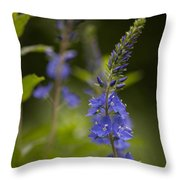 Arching To The Light Throw Pillow