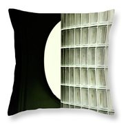 Architectural Abstract Throw Pillow
