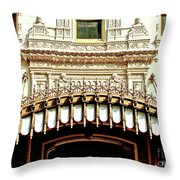 Architectural Detail New Orleans Throw Pillow