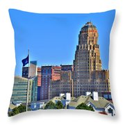 Architectural Eye Candy Throw Pillow