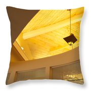 Architectural Interior 4 Throw Pillow