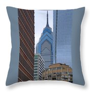 Architectural Miscellany Throw Pillow