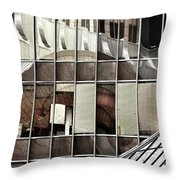 Architectural Reflections Throw Pillow