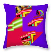 Architectural Review Throw Pillow