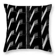 Architectural Uniformity Throw Pillow