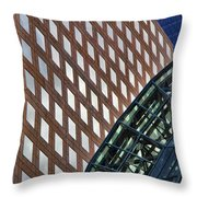 Architecture Building Patterns Throw Pillow