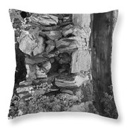 Architecture Of The Past Throw Pillow