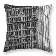 Architecture Reflections Throw Pillow