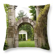 Archway Path Throw Pillow