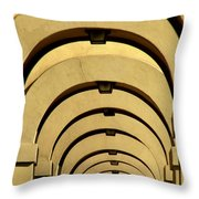 Archways In Florence Throw Pillow