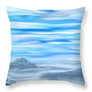 Arctic Melody Throw Pillow