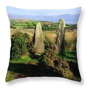 Ardgroom, Co Cork, Ireland Stone Circle Throw Pillow