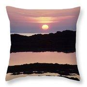 Ardnamurchan Peninsula, Lochaber Throw Pillow