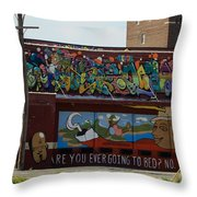 Are You Throw Pillow