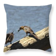 Are You Gonna Eat That? Throw Pillow