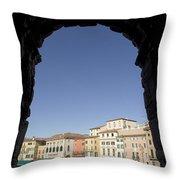 Arena Arch Verona Throw Pillow
