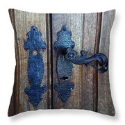 Argentinian Door Decor 1 Throw Pillow