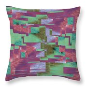 Argyle Seam 4 Throw Pillow