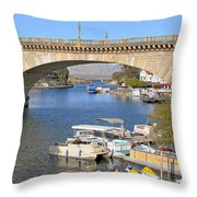 Arizona Import - Iconic London Bridge Throw Pillow