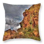 Arizona Where The Old Man Retired Throw Pillow